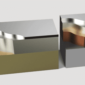 Parts Coated Through Physical Vapor Deposition