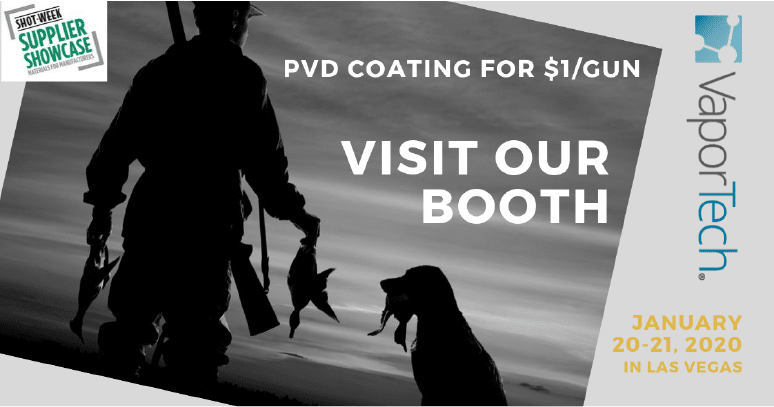 Find Out How to PVD- and DLC-Coat Gun Parts for $1/each @ SHOT Show Supplier Showcase 2021