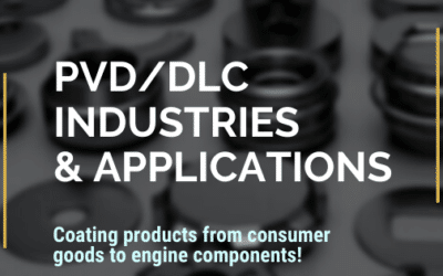 What Industries and Applications Use PVD and DLC  Coating?